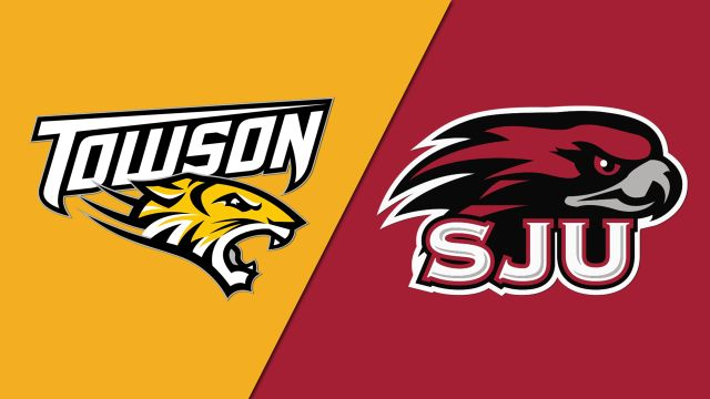 Towson vs. Saint Joseph's (W Basketball)