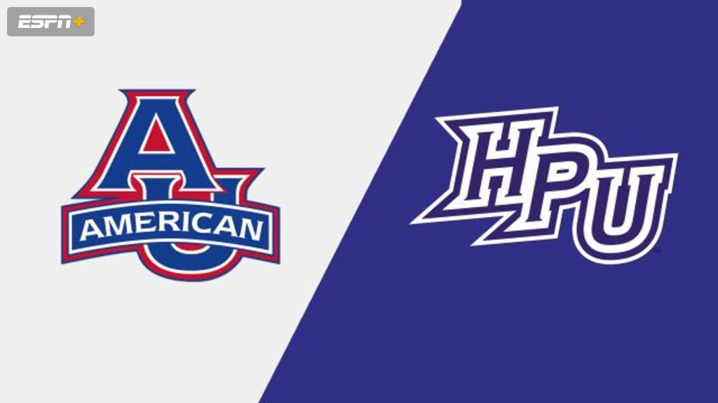 American vs. High Point (W Basketball)