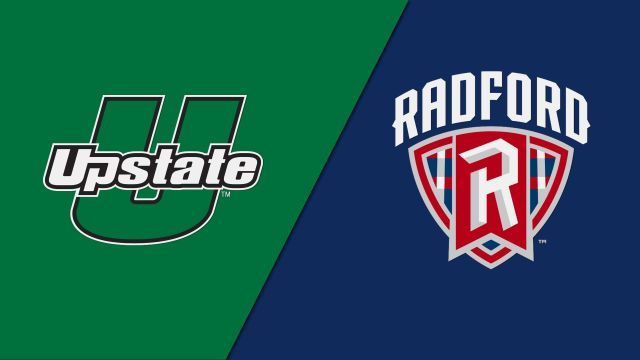 USC Upstate vs. Radford (Baseball)