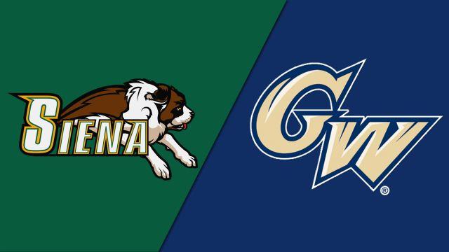 Siena vs. George Washington (M Basketball)