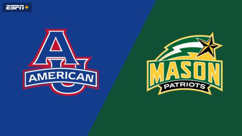 American vs. George Mason (M Soccer)