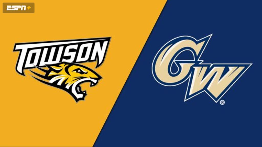 Towson vs. George Washington (W Soccer)