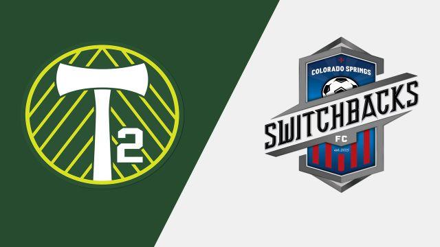 Portland Timbers 2 vs. Colorado Springs Switchbacks FC