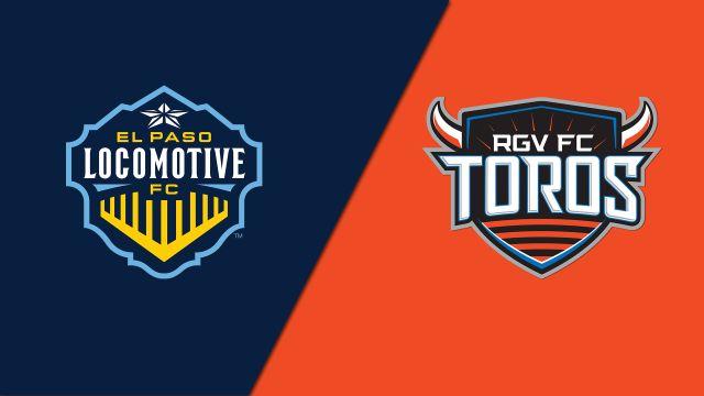 El Paso Locomotive FC vs. Rio Grande Valley FC Toros (United Soccer League)