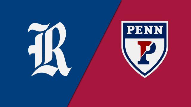 Rice vs. Pennsylvania (M Basketball)