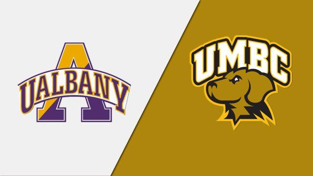 Albany vs. UMBC (Quarterfinal #1) (America East Men's Basketball Playoffs)