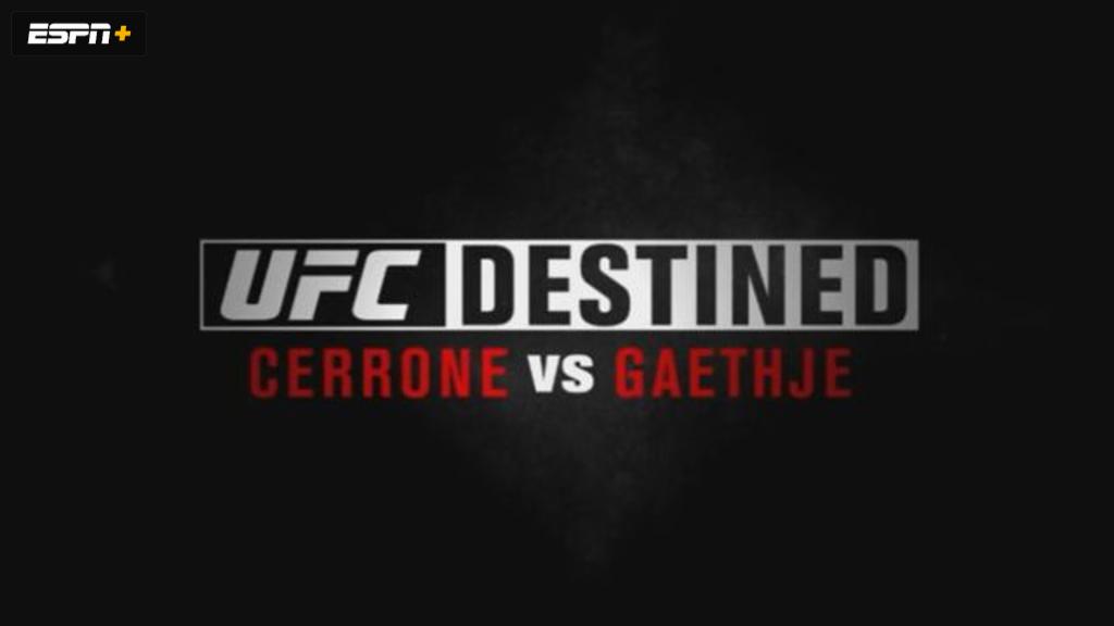 UFC Destined: Cerrone vs Gaethje (Part 1)