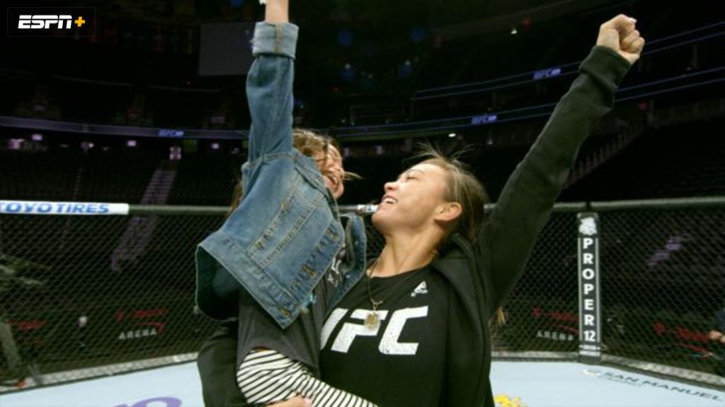 Michelle Waterson: Cage Mom
