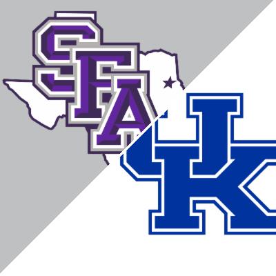 Stephen F. Austin vs. Kentucky - Game Summary - November 11, 2016 - ESPN