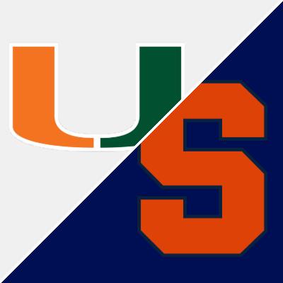 Miami Vs Syracuse Game Summary January 24 2019 Espn
