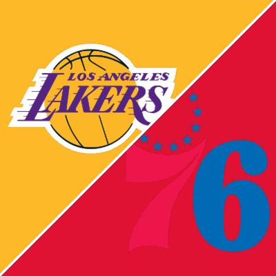 f03ef3567 Lakers vs. 76ers - Game Summary - February 10