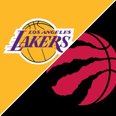 df450ca472b7 Lakers vs. Raptors - Game Summary - March 14