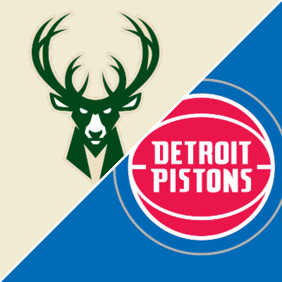 Giannis resists urge to fight Pistons in blowout win