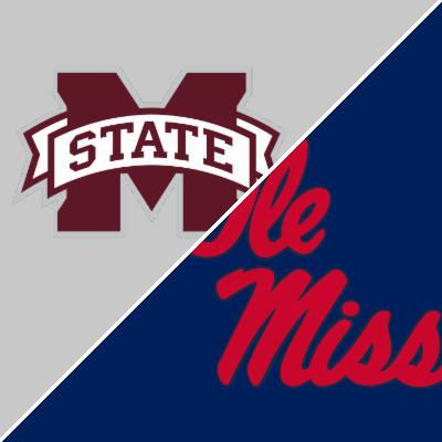 Mississippi State vs. Ole Miss - Team Statistics ...