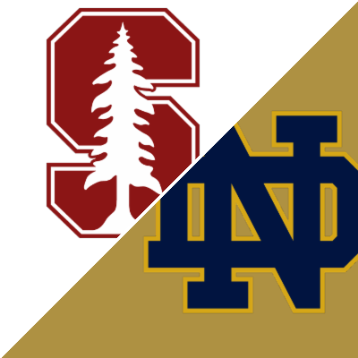 friday football games notre dame vs stanford score
