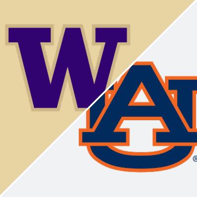 SEC Football: Washington Huskies vs. Auburn Tigers - Box Score - Sep 1, 2018