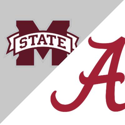 Mississippi State Vs Alabama Game Summary November 10 2018 Espn