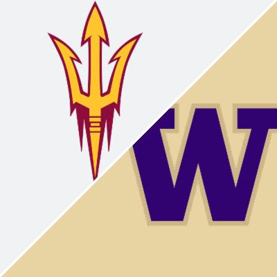 Arizona State Vs Washington Game Summary September 22 2018 Espn