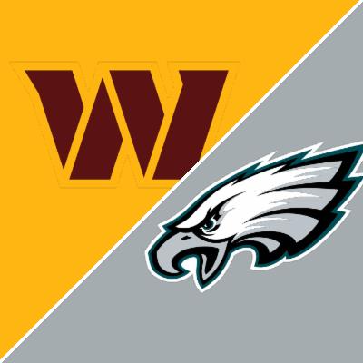 redskins vs eagles final score nfl point spred