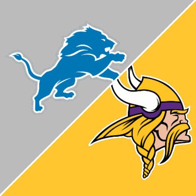 vikings vs lions box score b.e.t.