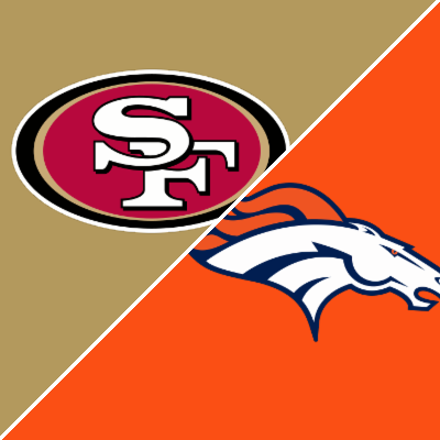 49ers vs broncos final score current nfl spreads