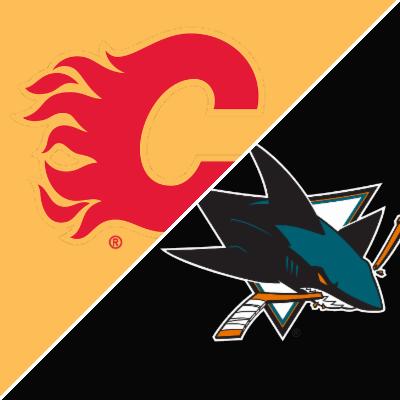 Flames vs. Sharks - Game Summary - October 13, 2019 - ESPN