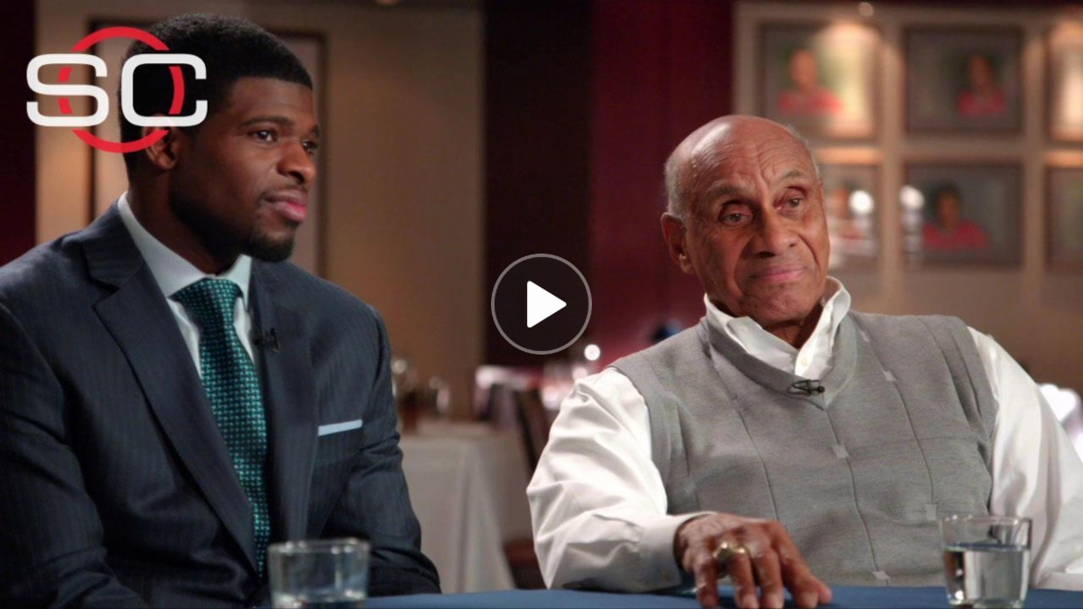 Paving the way: Willie O'Ree and P.K. Subban - ESPN Video