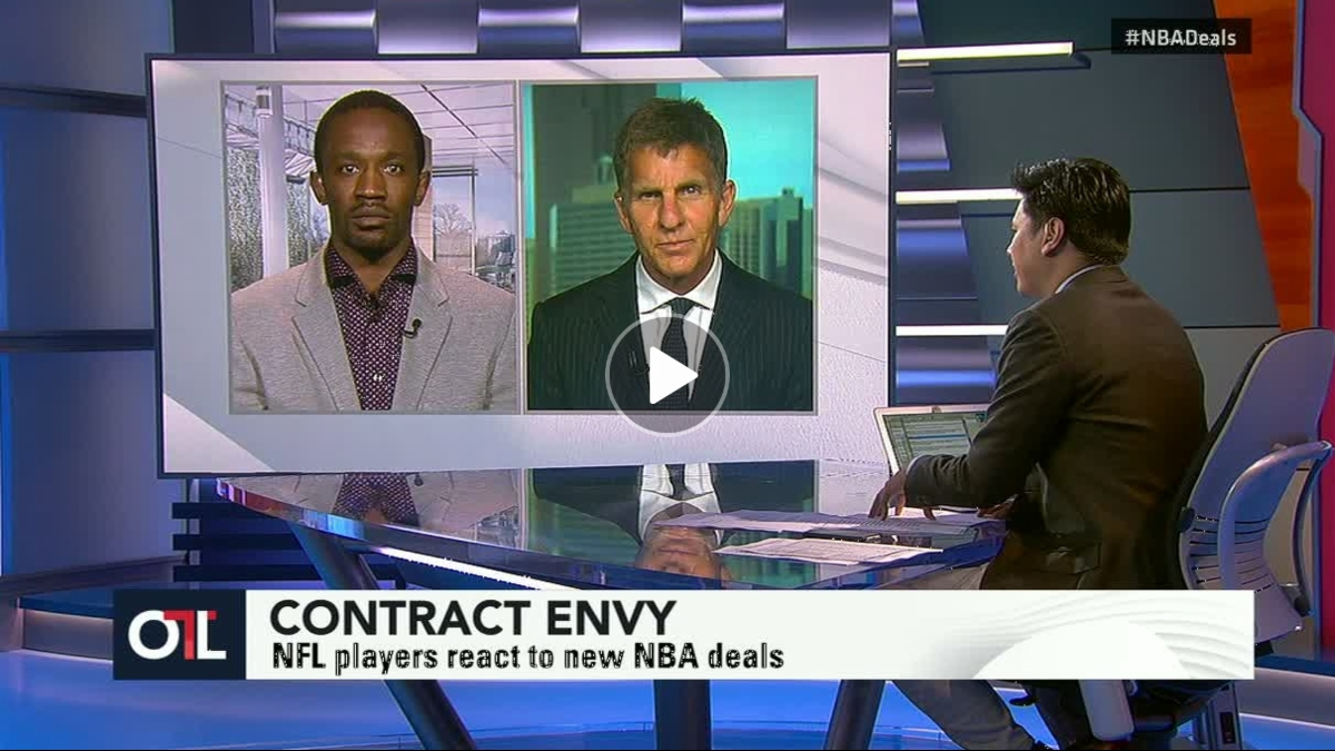 nfl players with nba contract envy espn video. Black Bedroom Furniture Sets. Home Design Ideas