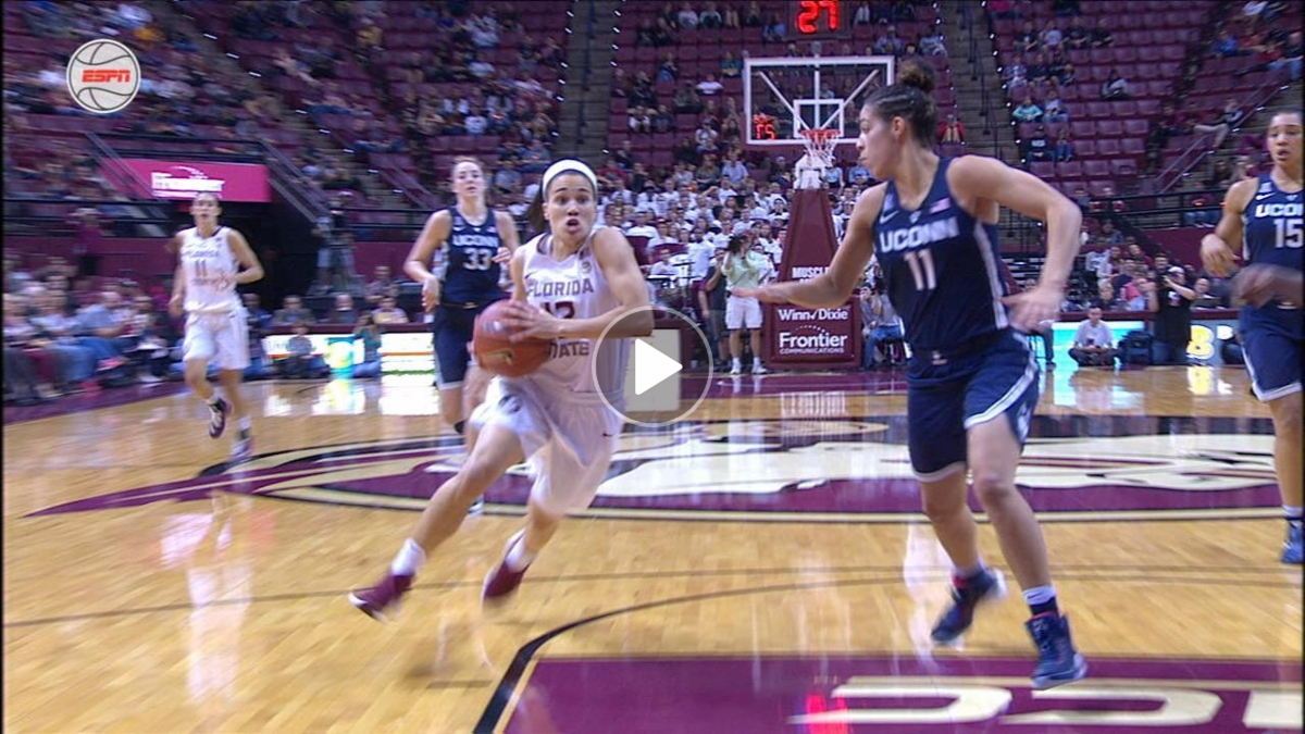 Brittany Brown's steal leads to another bucket for FSU - ESPN Video