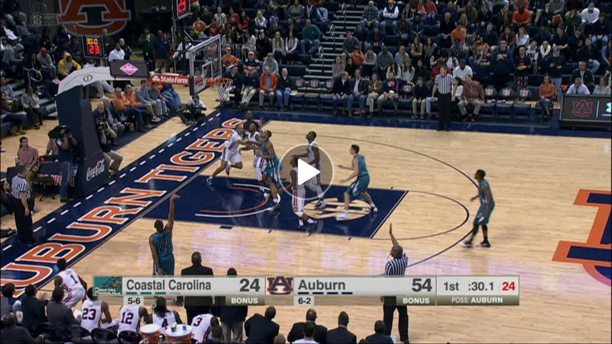 Elijah Wilson drains the three - ESPN Video